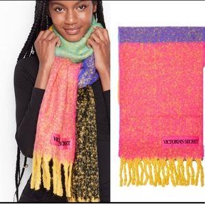 Nwt Victoria's secret colorblock scarf